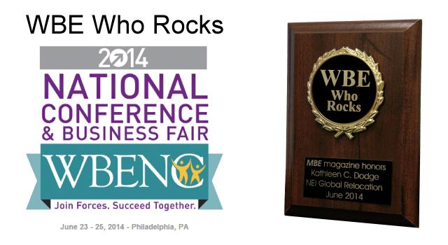 WBE Who Rocks