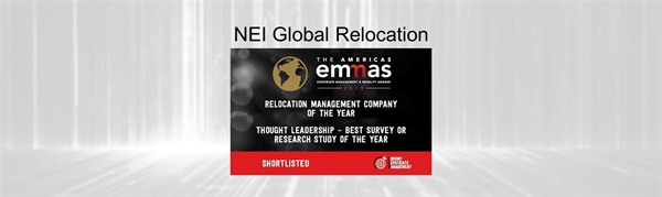 NEI Makes The 2019 EMMA'S Shortlist - Twice