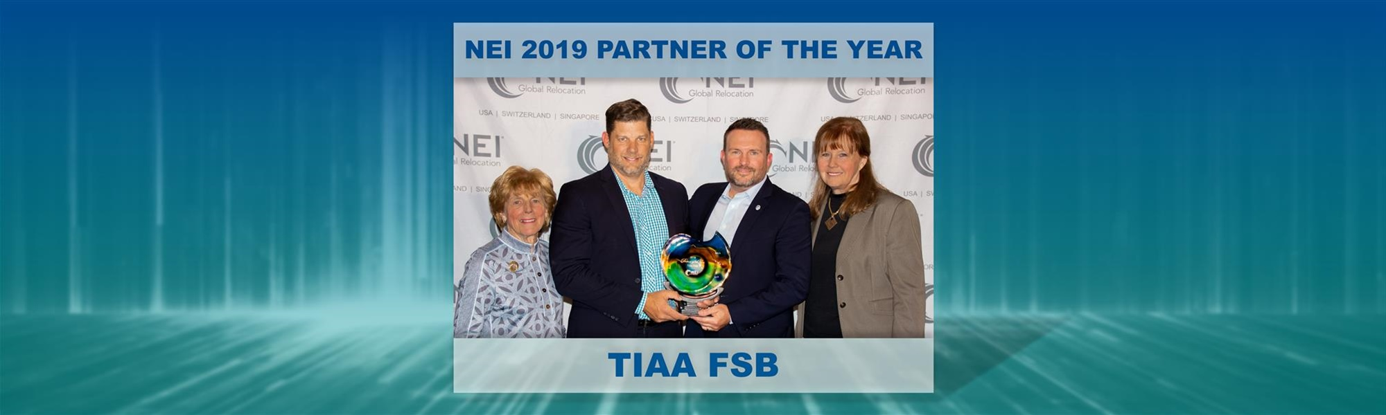 NEI Names TIAA FSB 2019 Partner of the Year