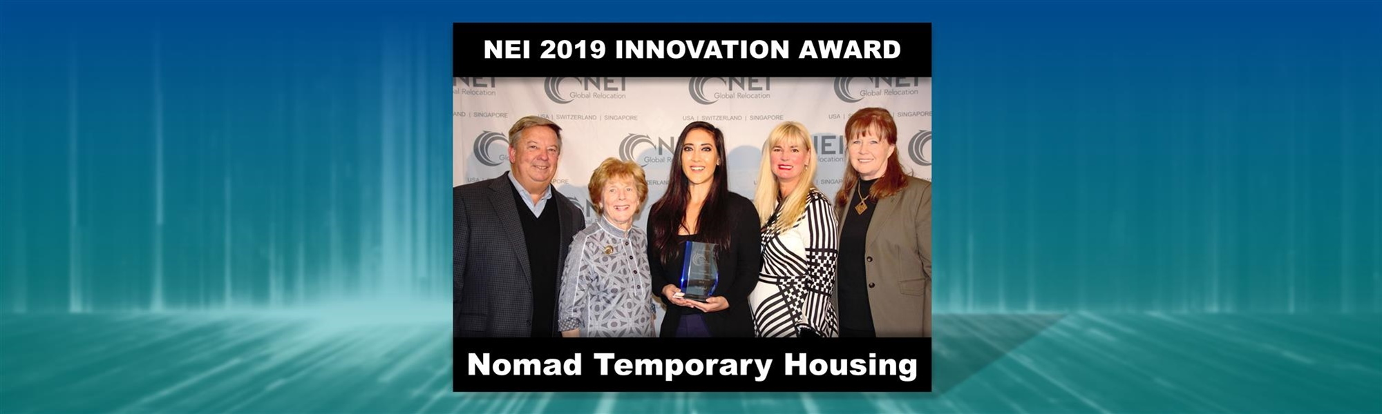 NEI Recognizes Nomad Temporary Housing with Innovation Award