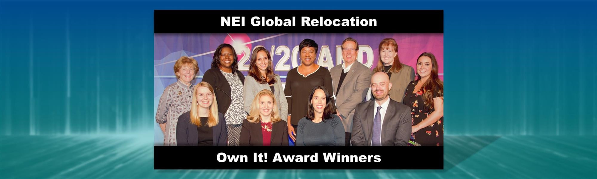 NEI Global Relocation Recognizes Nine Service Partners for Own It! Awards