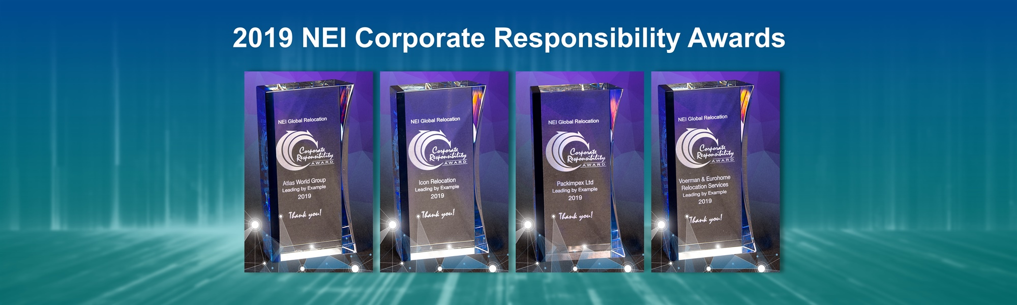 NEI Presents Corporate Responsibility Awards to Four Companies