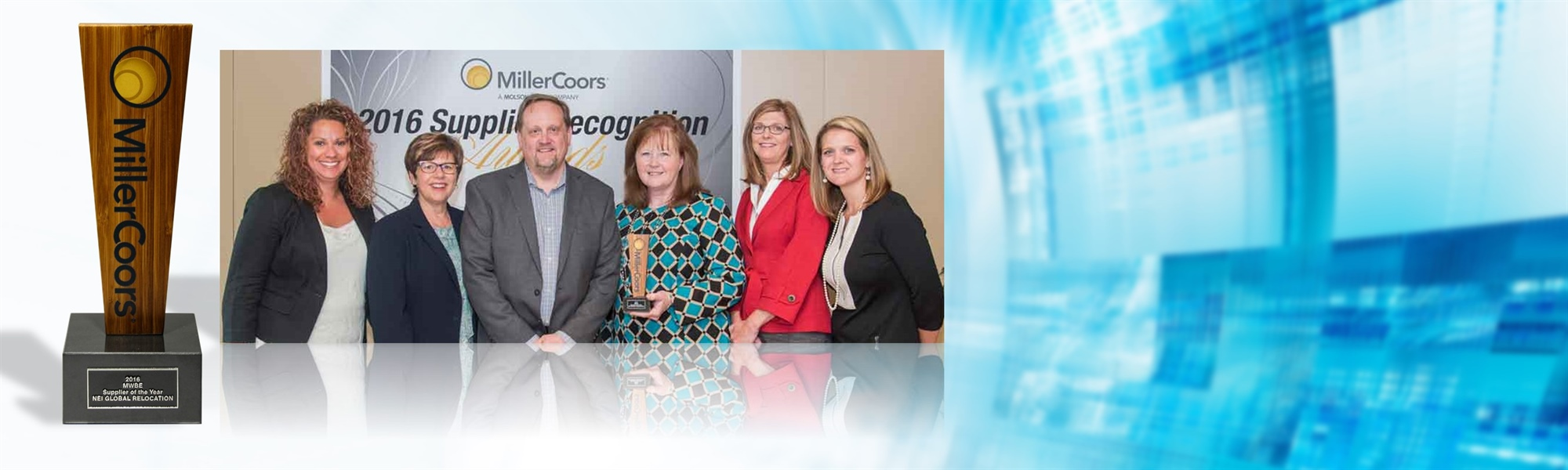 MillerCoors Names NEI Global Relocation MWBE Supplier of the Year